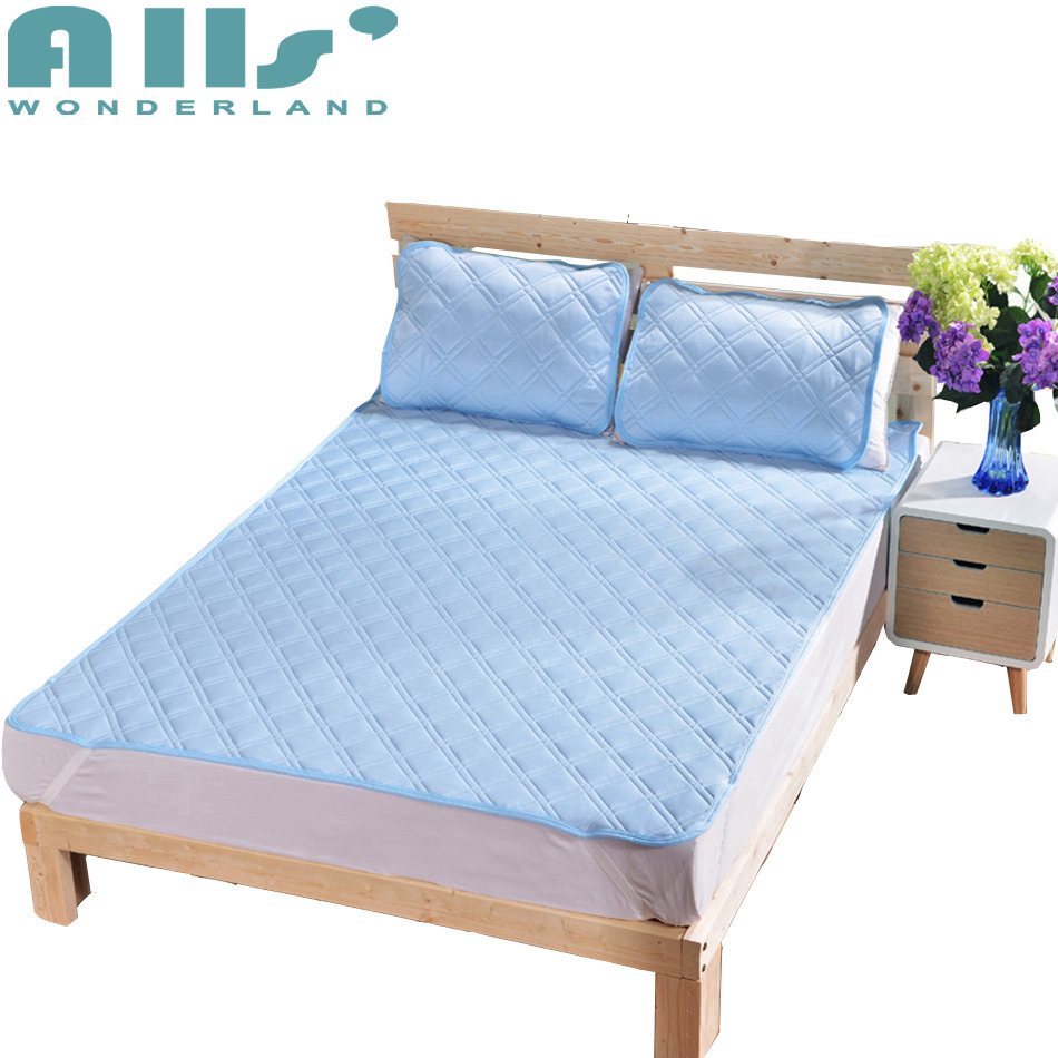 Pillow Mat Summer Sleeping Mat Single Mattress Cover Protector Bed Modern Decoration Queen Mattress Protector Bed Cloth