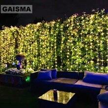 10x 5M 1600 Lampen Fee LED Vorhang Hochzeit Lichter Dekoration Weihnachten Lichter Garland Partei Hause Neue Jahr Urlaub Dekor beleuchtung