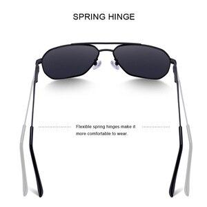 Image 5 - MERRYS Uomini di DISEGNO Classico Occhiali Da Sole Quadrati Aviation Telaio HD Occhiali Da Sole Polarizzati Per Gli Uomini di Guida UV400 Protezione S8211