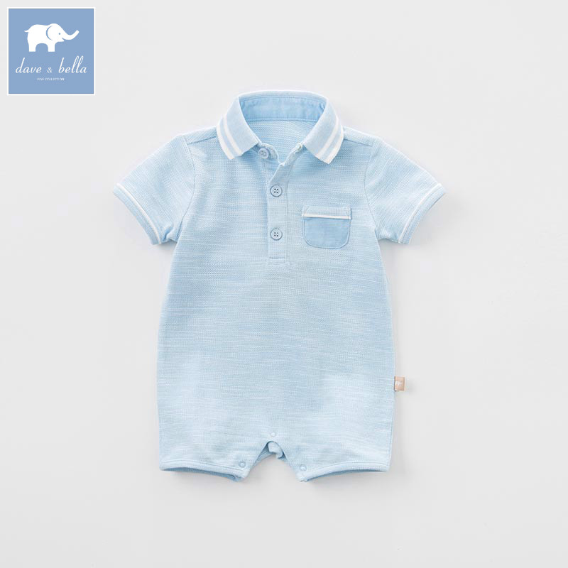 DBA6344 dave bella summer baby boys new born cotton romper infant clothes cute children romper baby 1 piece dbm7508 dave bella summer baby girls new born cotton romper infant clothes cute children romper baby 1 piece
