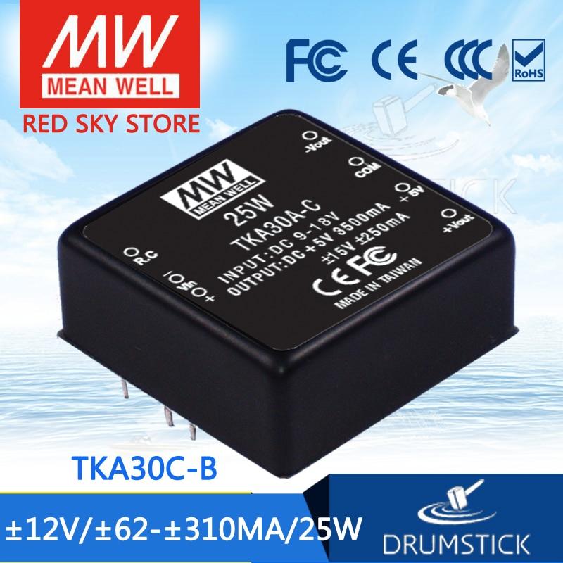 Advantages MEAN WELL TKA30C-B 12V 310mA meanwell TKA30 12V 25W DC-DC Triple Output ConverterAdvantages MEAN WELL TKA30C-B 12V 310mA meanwell TKA30 12V 25W DC-DC Triple Output Converter