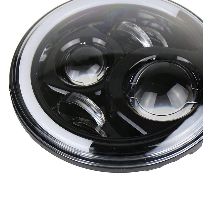 Ambra si accende 9150970 Cannone LED Guida Luce 50 W Led Cannone Luce stretto Fascio 4WD 4x4 Off road Ha Condotto il Faro x1pc Spedizione Gratuita - 3