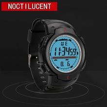 купить Round LED Watch Military Casual Sports Retro Display Date Quartz Watch Electronics Men Clock Wristwatch Relogio Masculino дешево