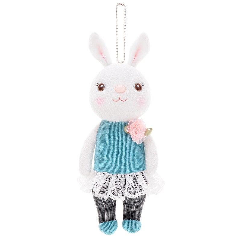 METOO Plush Tiramisu Bunny Finger Rabbit Toy New Style Rabbit Dolls Decoration 9 New Birthday Gifts Kids Girls