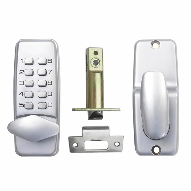 Keyless Mechanical Keypad Code Lock Digital Locker Home Entry Security Safety Door Lock 1701
