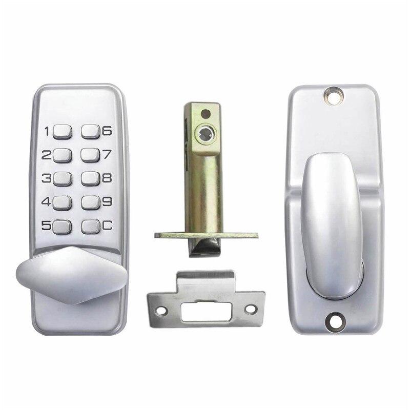 Keyless Mechanical Keypad Code Lock Digital Locker Home