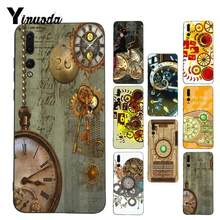 Yinuoda Time Machine Top Detailed Coque Phone Case for Huawei P9 P10 Plus Mate9 10 Mate10 Lite P20 Pro Honor10 View10(China)