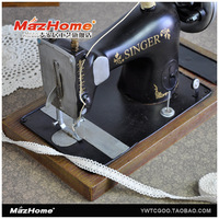 Vintage sewing machine model furnishings bar creative home decorations ornaments clothing store window props