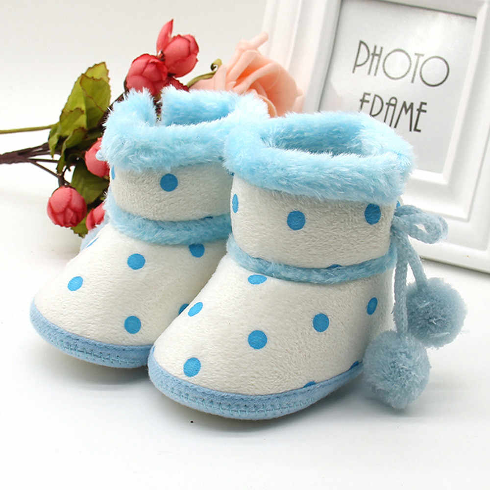 8853fd6479b4 Detail Feedback Questions about Baby Girls Boys Soft Booties Snow ...