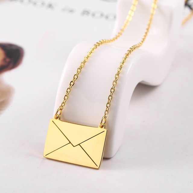 RIR Gold Envelope Pendant...