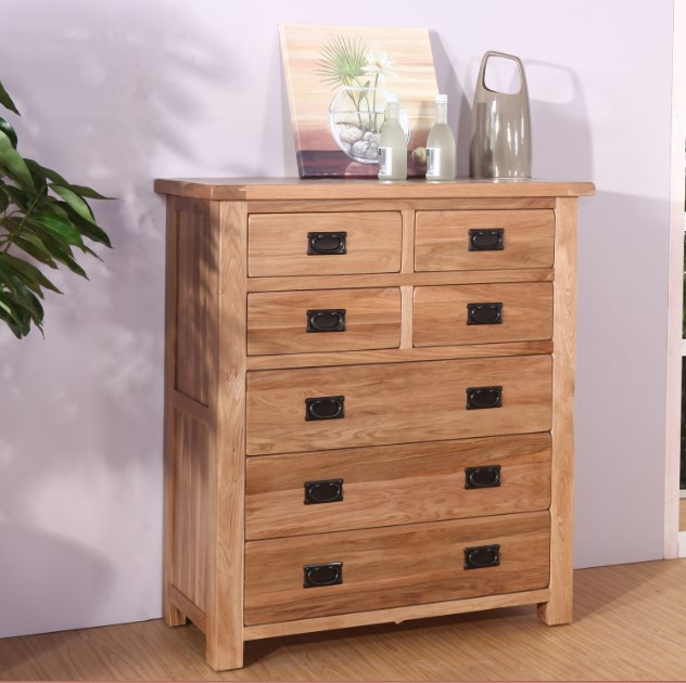 continental seven minimalist sideboard chests of drawers idyllic french vintage oak lockers bucket cabinet ikea furniture