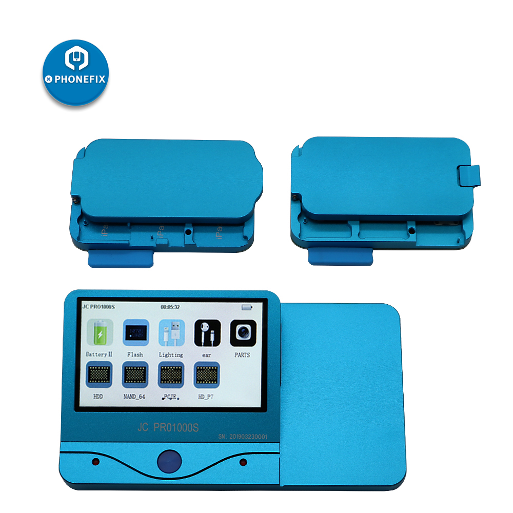 PHONEFIX JC PRO1000S Non Removal NAND Programmer Read Write iCloud Repair Tool For iPad 2 3