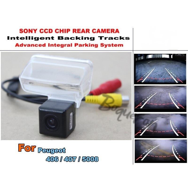 Caméra de Parking intelligente de voiture/caméra de recul HD/caméra de recul pour Peugeot 406/407/5008