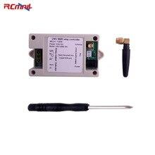 RCmall 1 canal relais Module SMS appel GSM télécommande commutateur SIM800C STM32F103CBT6 avec étui et tournevis FZ3024C + T0078