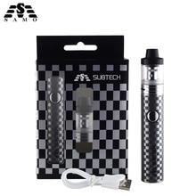NEW Original S22 Electronic cigarette vaper kit with 2ml atomizer 1800mah battery 0.3ohm 0.5ohm control vaporizer vape pen kit цена
