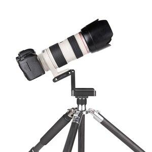 Image 4 - 写真撮影カメラスタジオ三脚 Z アルミパン & チルト柔軟なヘッド最大負荷 3 キロボールヘッド写真撮影一眼レフ三脚スタンド