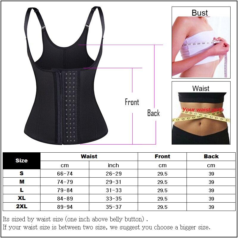 c40a59d3e Sexy Women Vest Corset Body Shaper Sportswear bodysuit Waist Bustier Body  Waist Trainer Underbust Fat Burning Belt shapewear -in Waist Cinchers from  ...