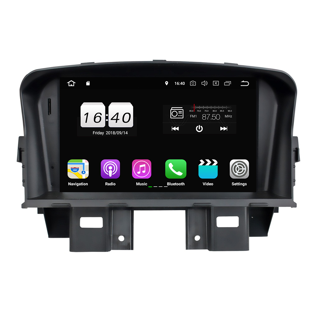 """2GB RAM Quad Core 2 din 7"""" Android 8.1 Car DVD Player for Chevrolet Cruze 2008-2011 With Car Radio GPS WIFI Bluetooth 16GB ROM"""
