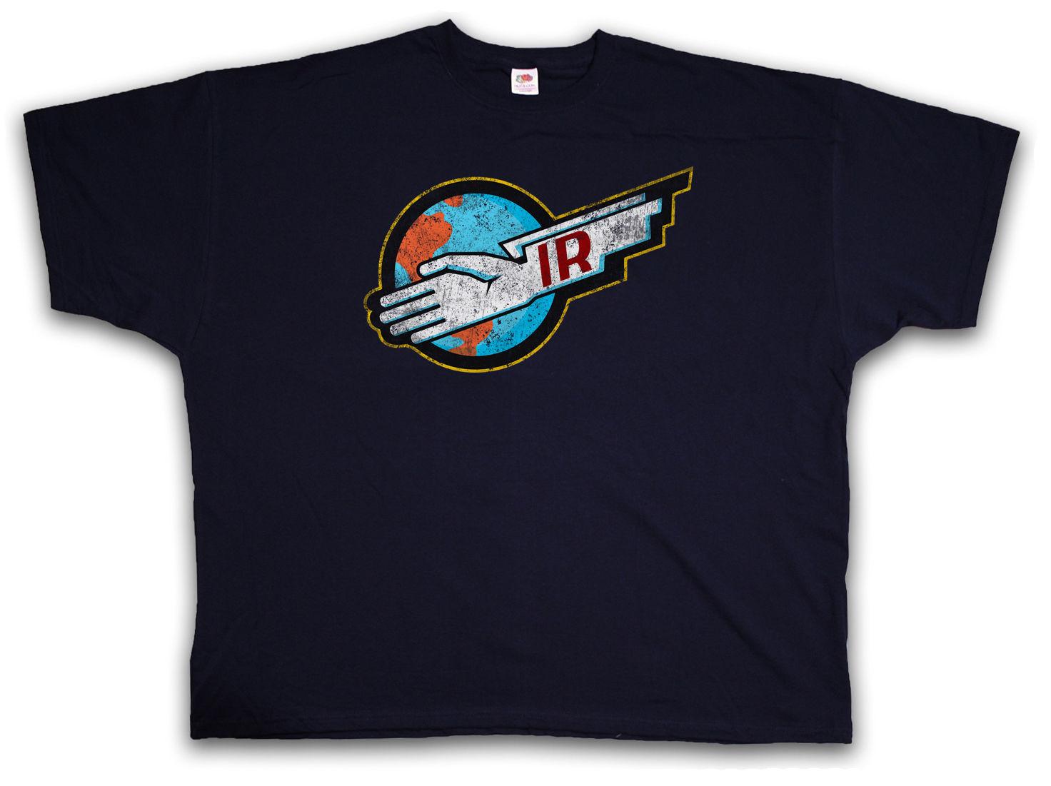 THUNDERBIRDS IR T-SHIRT - Gerry Anderson Rescue T Shirt Brand Clothes Summer 2018