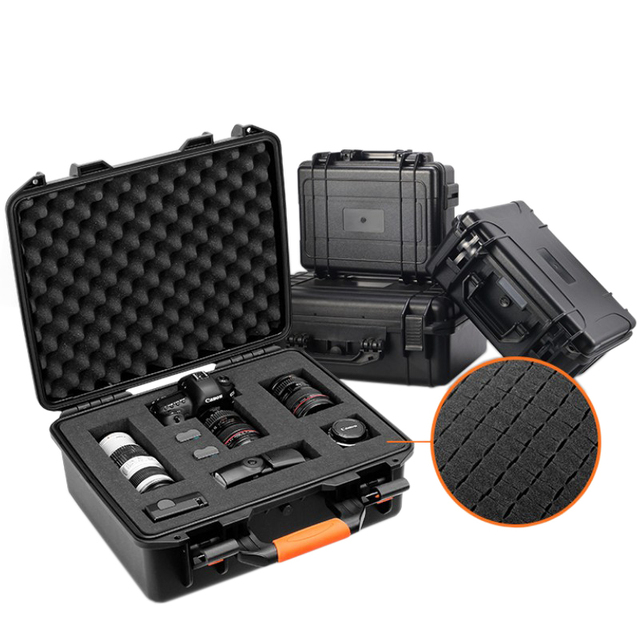 Instrument box safety equipment box protective toolbox portable plastic air box camera waterproof moistureproof case