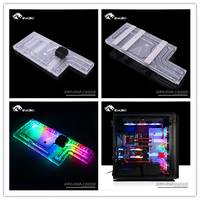 BYKSKI акрил водный совет решение применение для Corsair 1000d чехол процессор и блок GPU/3PIN RGB 5 в Совместимость DDC насос
