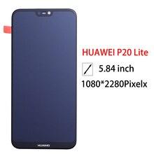 2280*1080 AAA qualité LCD avec cadre pour HUAWEI P20 Lite écran daffichage Lcd pour HUAWEI P20 Lite ANE LX1 ANE LX3 Nova 3e