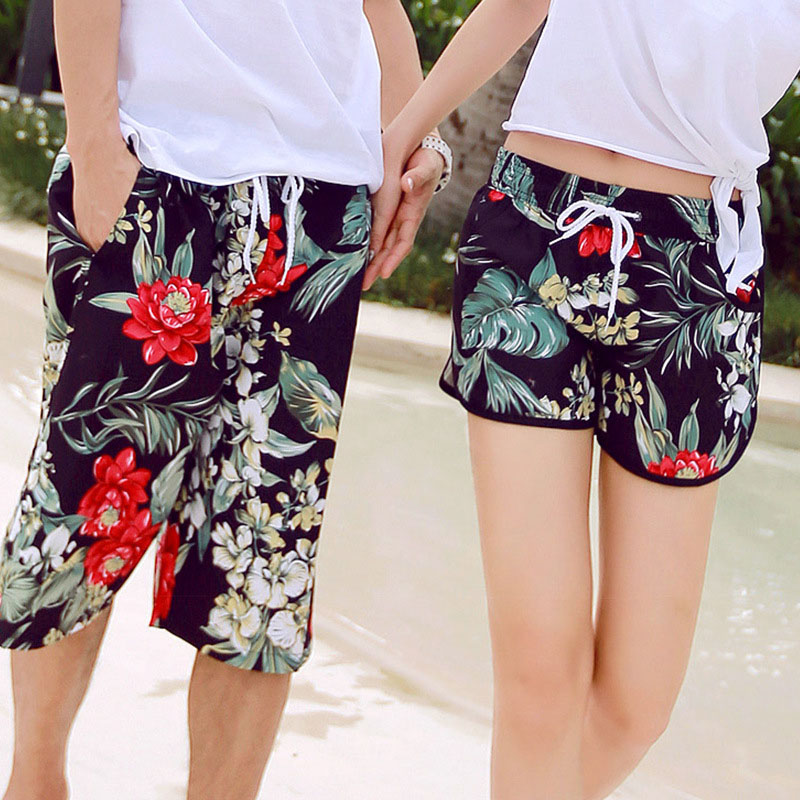 H.S.F.Q Couple   Board     Shorts   Swimming Trunks Liner Joggers Running Sweat Swimsuit Beach Surfing Boardshort Sport Fitness 0019-27