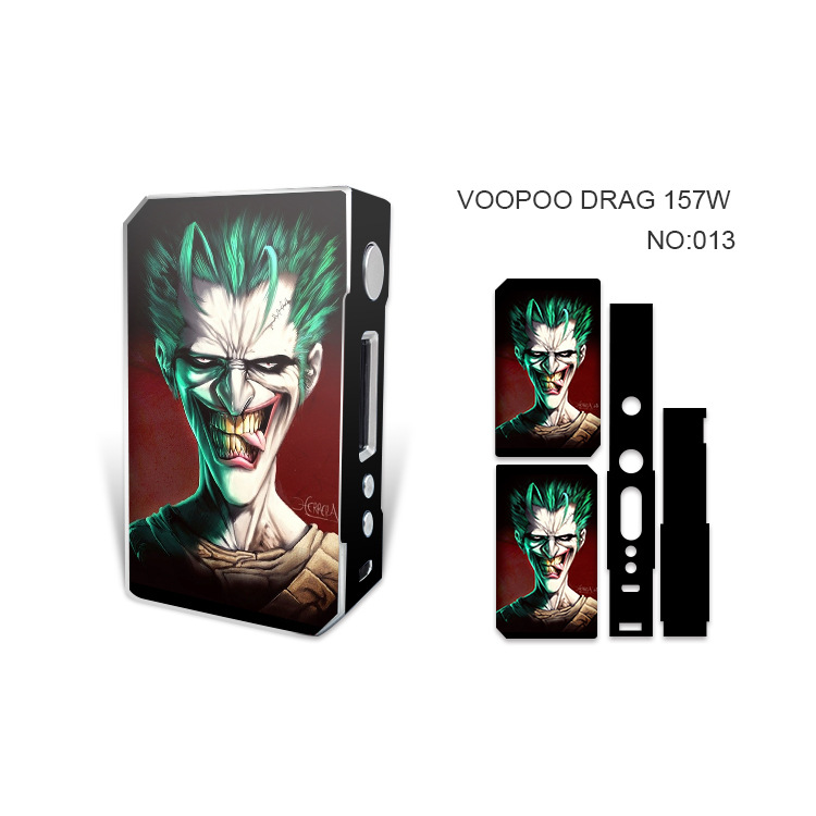 8 Colors Stickers For Voopoo drag 157W Sticker Decals Skin recliner