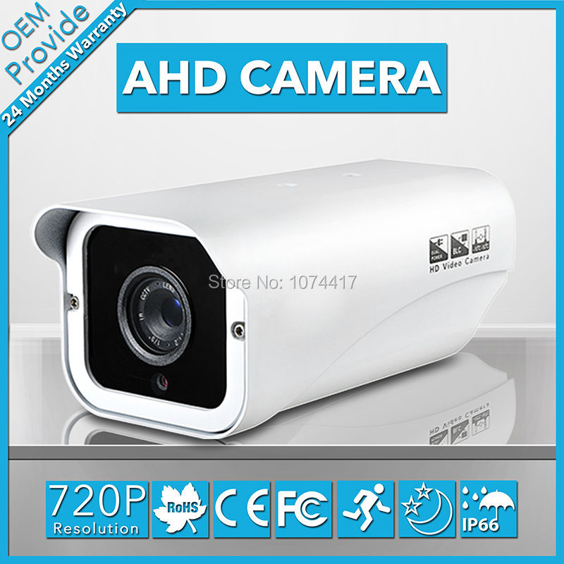 AHD2100PH 720P  HD Security camera  waterproof IR cctv camera for night vision color indoor/outdoor Box  home security 402 189 139mm gray white outdoor waterproof cctv camera housing aluminum abs casing for cctv security zoom box body camera
