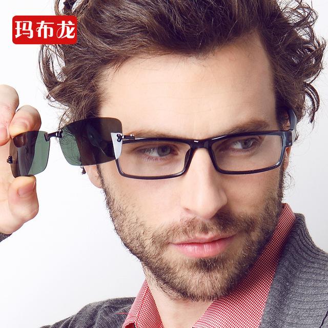 Envío prescrption llenado miopes recetados hombres marco de los vidrios ópticos gafas miopía espectáculo óptico 5130