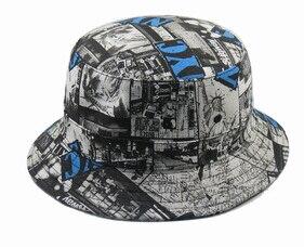 Fashion Cool Women Men Sun Hat Black Fishing Hats New Galaxy Summer Bucket  Hat hip hop Gorras Touca Fashion national cap-in Bucket Hats from Apparel  ... d3a69609f44d