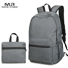 Mark Ryden Folding Backpack Men 14 Inch Nylon Men Backpack Lightweight Bag Water Repllent Travel Storage Bags(China)