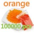 orange 100000pcs brinqued/ free/orbeez Soft Crystal Water Gun Paintball Bullet Gun Toy Nerf Bibulou  Bullet Pisol giant orbeez
