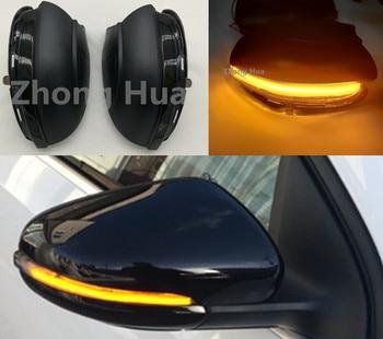 Dynamic Turn Signal LED For GOLF 6 MK R32 08-14 Touran Side Wing Rearview Mirror Indicator Blinker Repeater Light Lamp