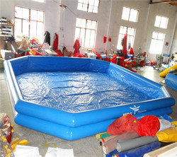 PVC double inflatable swimming pool /swimming pool for kids