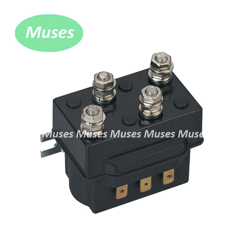 High Quality Factory Supply 24V DC Reversing Contactor 200A contactor use for auto electric winch ships