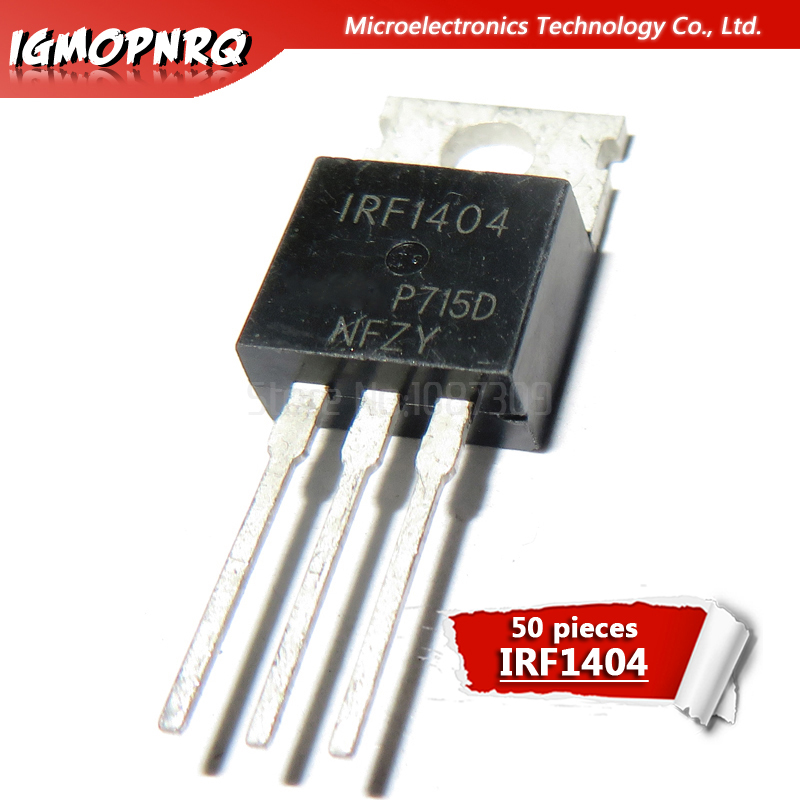 50pcs IRF1404 IRF1405 IRF1407 IRF2807 IRF3710 LM317T IRF3205 Hjxrhgal Transistor TO-220 TO220 IRF1404PBF IRF1405PBF IRF3205PBF
