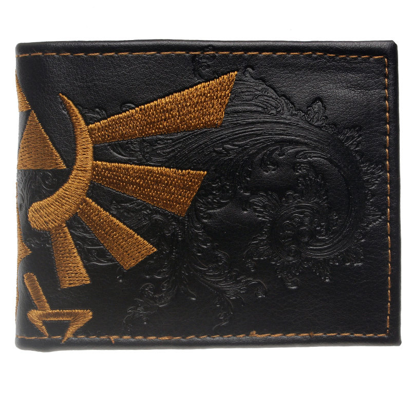 The Legend of Zelda wallet Young men and women students personality short animated cartoon fashion purse DFT-1026 все цены