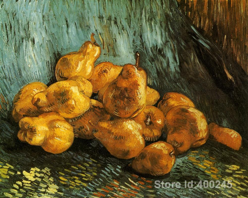Best Art Reproduction Still Life with Pears Vincent Van Gogh Painting for sale hand painted High quality
