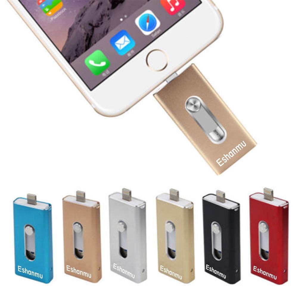 eshanmu 601 for iphone otg usb flash drive pen drive for. Black Bedroom Furniture Sets. Home Design Ideas