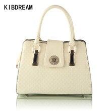 KIBDREAM 2016 Neue Mode frauen Umhängetasche Marke Diamanten Lackleder Handtaschen Berühmte Designer Haspe OL Crossbody Tote Bag