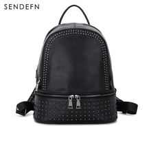 Hot Sale New Backpack Genuine Leather Women Backpack Fashion School Backpack luxury Women Shoulder Bag Youth