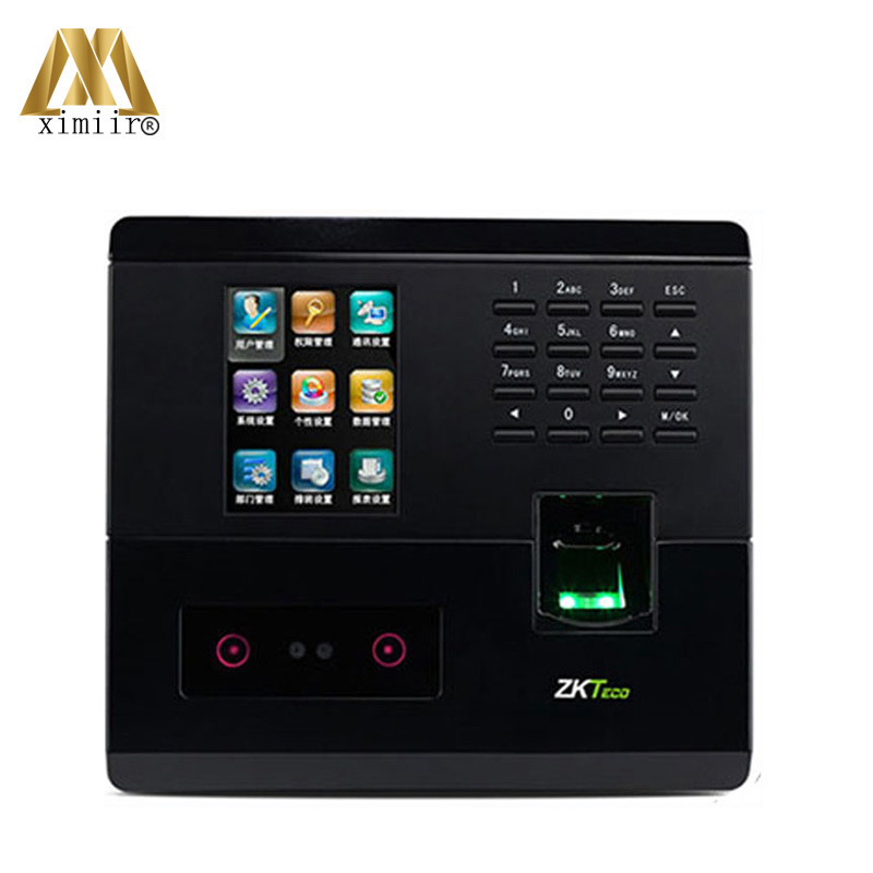 Free SDK Free Software Biometric Time Attendance UF200 Color Screen With Camera TCP/IP Access Controller