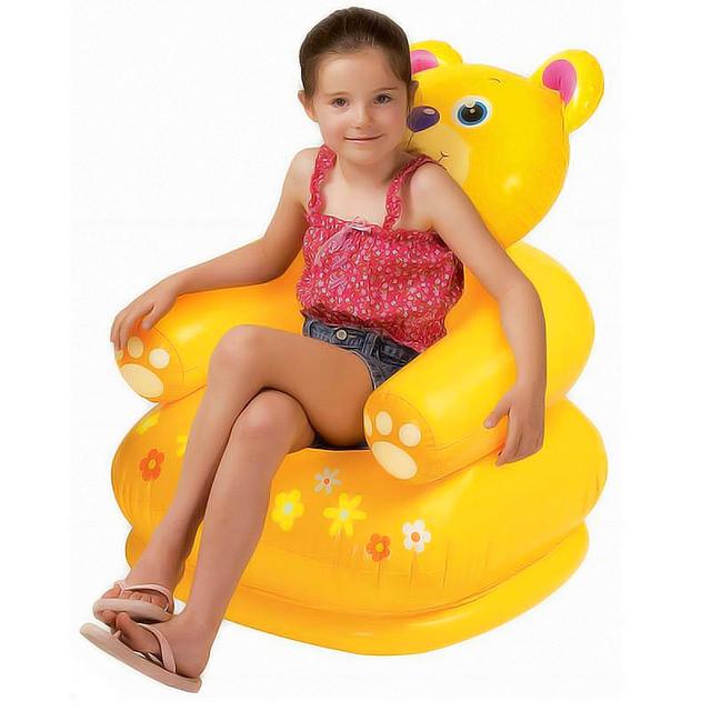 Para o Miúdo 3-8 Anos de Idade Portátil Bonito Dos Desenhos Animados Estilo Animais Assentos de Cadeiras para crianças Lindo Sofá Inflável Cadeiras de Bebê Dos Miúdos PVC A010
