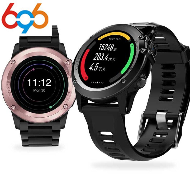 696 H1 Smart Watch IP68 Waterproof MTK6572 4GB+512MB 3G GPS WIFI Bluetooth Pedometer Heart Rate Tracker Android IOS Camera smartch h1 smart watch ip68 waterproof 1 39inch 400 400 gps wifi 3g heart rate 4gb 512mb smartwatch for android ios camera 500