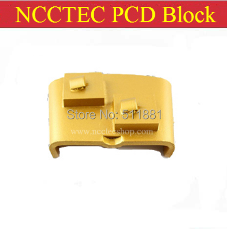 PCD Shoes HTC Polisher PCD Pad PCD Block For Removing 1-3mm Epoxy(5 PCS Per Package)/ Quick And Easy Install Insert Design