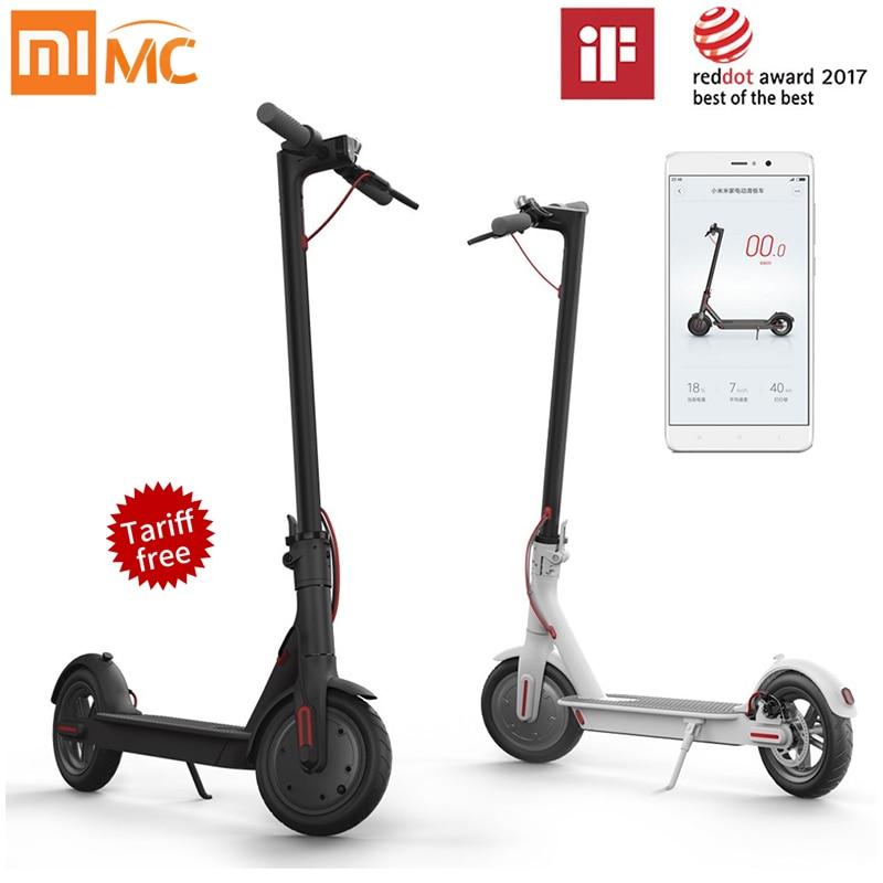 Xiaomi m365 Mi Electric Scooter Mijia Smart e Scooter Skateboard Mini Foldable Hoverboard Patinete Electrico Adult