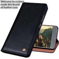 JC06 Couverture En Cuir Véritable étui pour samsung Galaxy S7 Bord G9350 Téléphone étui pour samsung Galaxy S7 Bord Couverture de Téléphone