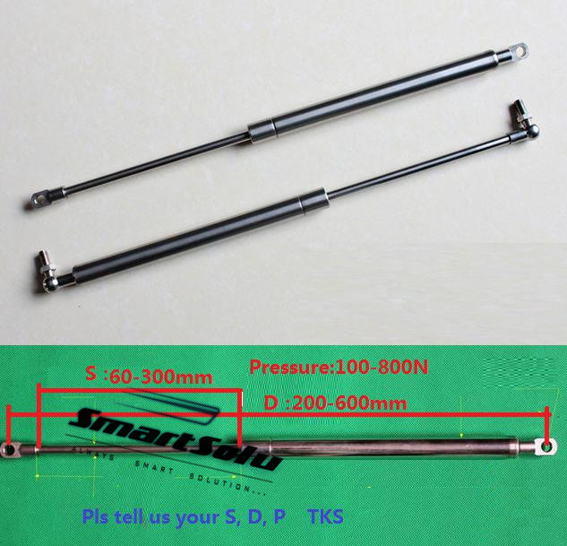 free shipping 100to 800Nforce200 to 600mm central distance,60 to 300mm stroke, pneumatic Auto Gas Springfree shipping 100to 800Nforce200 to 600mm central distance,60 to 300mm stroke, pneumatic Auto Gas Spring