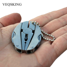 Portable Multifunction Folding Plier, Stainless Steel Foldaway Knife Keychain Screwdriver, Outdoor Camping Survival EDC Tools